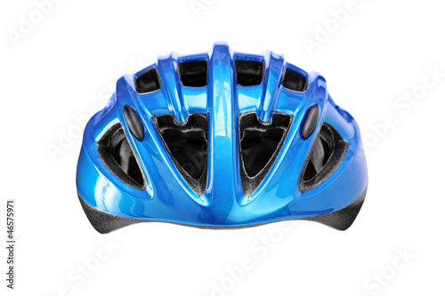 Studio shot of a helmet for byciclist