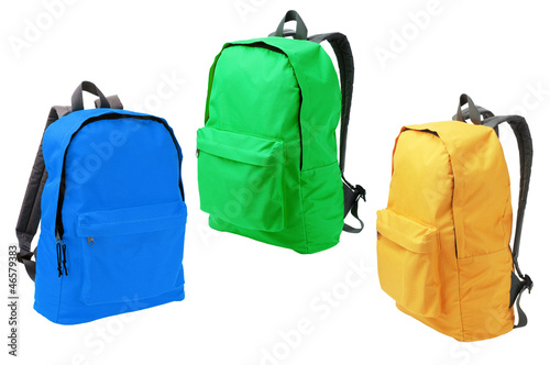 Three Backpacks - 46579383