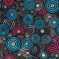 abstract grunge circle seamless