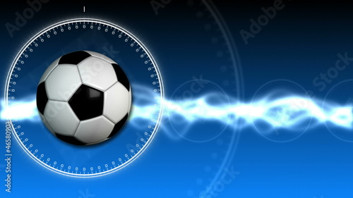 Soccer Ball Sport Background 03 (HD)