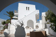 Typical cycladic architecture holiday home. Taken in Antiparos