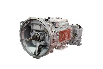 truck automatic transmission isolated
