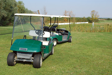 golf electric buggy