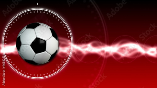 Soccer Ball Sport Background 04 (HD)