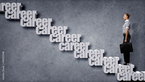 Career related words concept