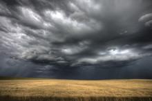 """Постер, картина, фотообои """"Storm Clouds Saskatchewan"""""""