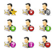 Web Icons, Internet & Website icons, users & blog icons
