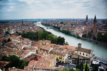 Verona from above. Italy