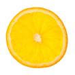 Scheibe einer Orange