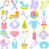 Accessories for Mom and Baby in Pastel