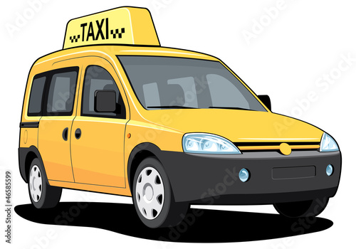 Vector isolated taxi without gradients
