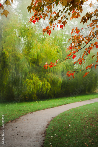 Herlev park in autumn