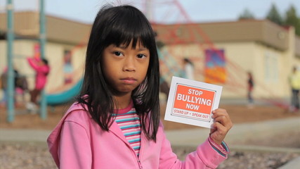 Stop Bullying Now Message