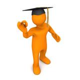 Graduate Black Super