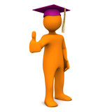 Graduate Purple OK