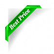Best Price Green Banner