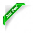 Best Deal  Green Banner