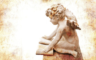 Angel with book