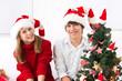 Bruder & Schwester an Weihnachten