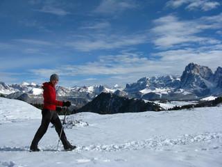 Seiser Alm, Winterwandern, Südtirol