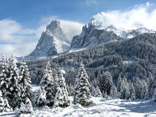 Seiser Alm, Winterurlaub, Dolomiten, Südtirol