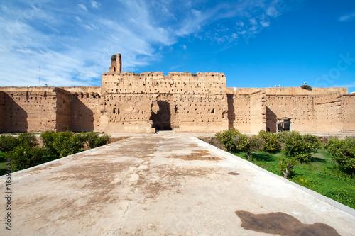 Fotobehang Marokko El Badi Palace - Morocco