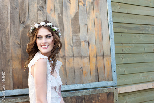 Beautiful Smiling Bride