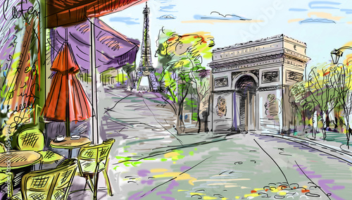 paris-strase-illustration