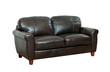 luxurious of the dark brown leather sofa best for luxury hotels