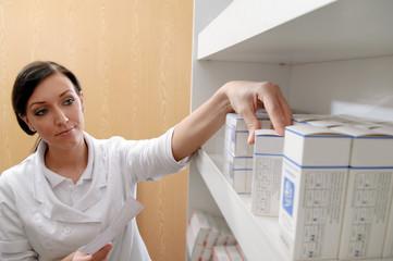 PTA mit Rezept und Arzneimittel