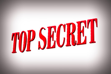 Red Top Secret sign