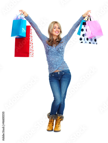 Shopping woman.