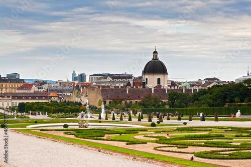 Belvedere garden