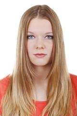 Hübscher blonder Teenager