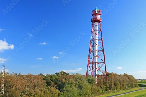 Leinwanddruck Bild Leuchtturm Campen, Ostfriesland