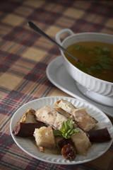Portuguese food - sopa da panela