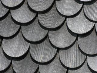 Holz Schindeln - Witterungsschutz