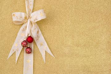 Goldener Hintergrund zum Weihnachtsfest