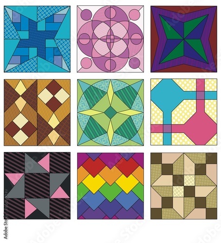Tradidtional quilting patterns