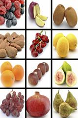 Mural de frutas