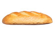 long loaf isolated on a white background