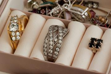 inside jewelry box