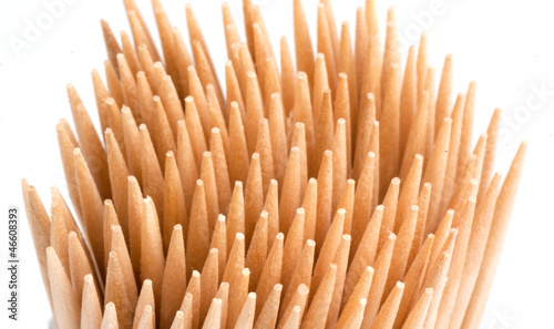 Wooden toothpicks