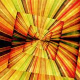 Multicolor Sunbeams grunge background