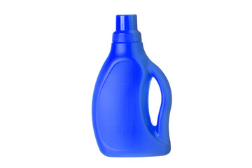 Spray Bottle of a Cleaning Product isolated on white