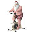 Santa Fitness - Stationary Bike