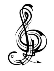 """Notenschlüssel """"String"""""""