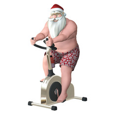 Santa Fitness - Stationary Bike