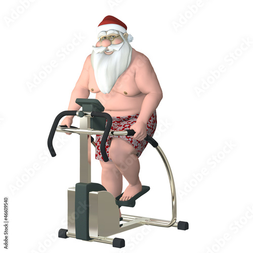 Santa Fitness - Stair Stepper