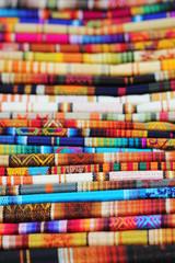 Tissu traditionnel Amérique du Sud